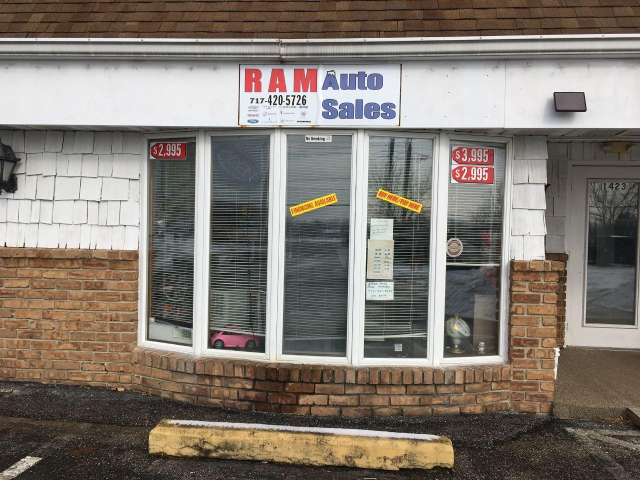 Ram Auto Sales