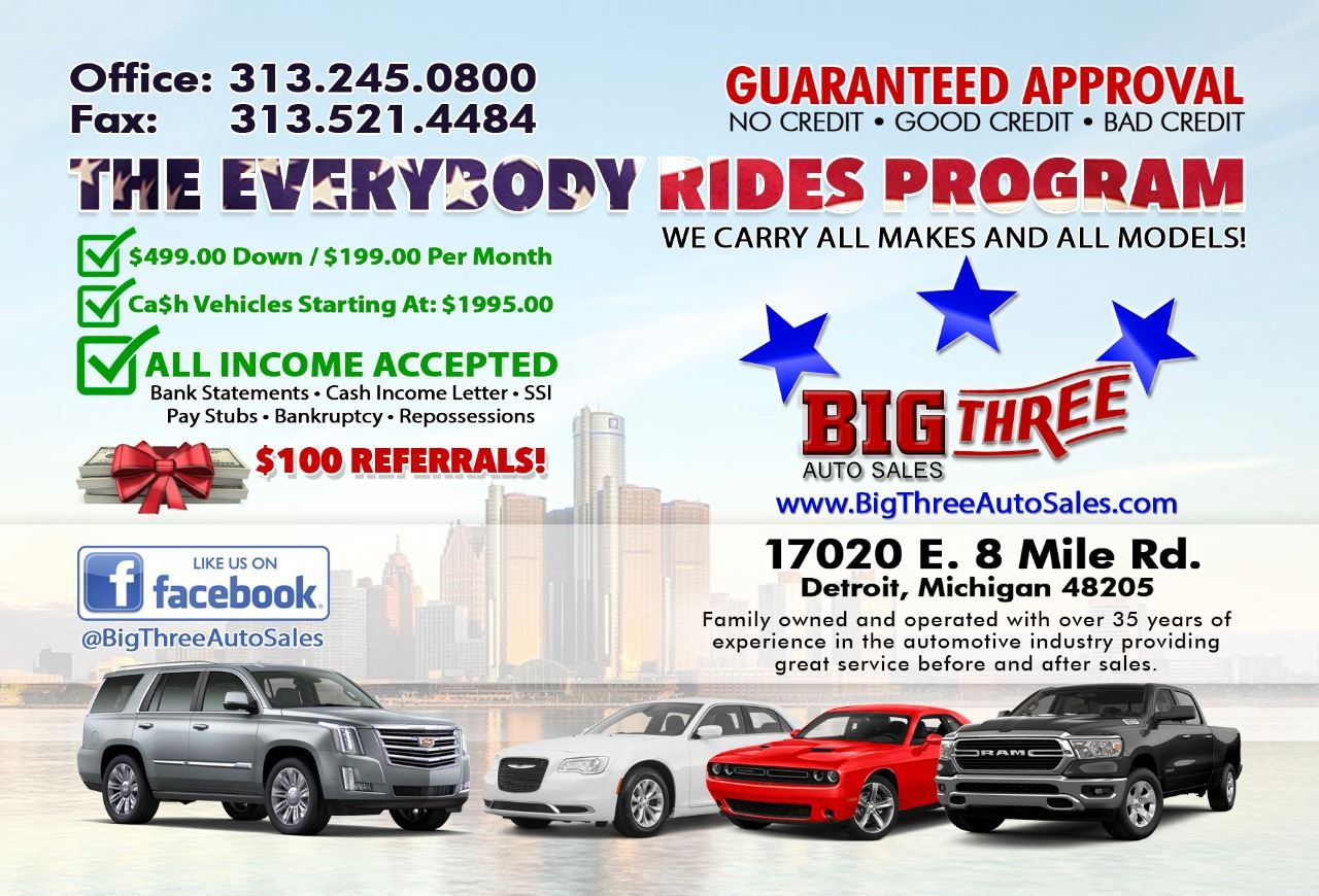 Big Three Auto Sales Inc.