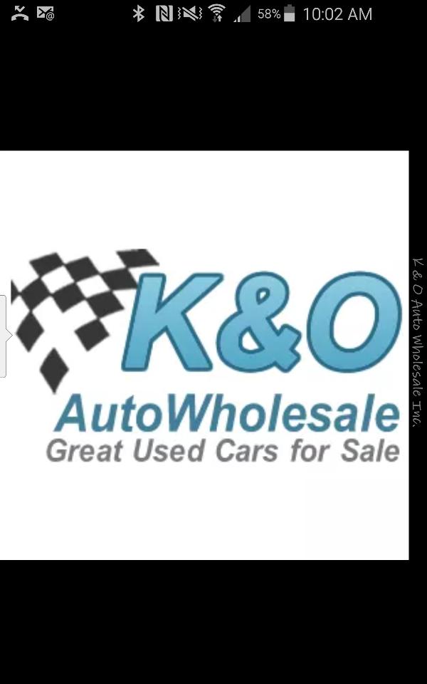 K & O AUTO WHOLESALE INC