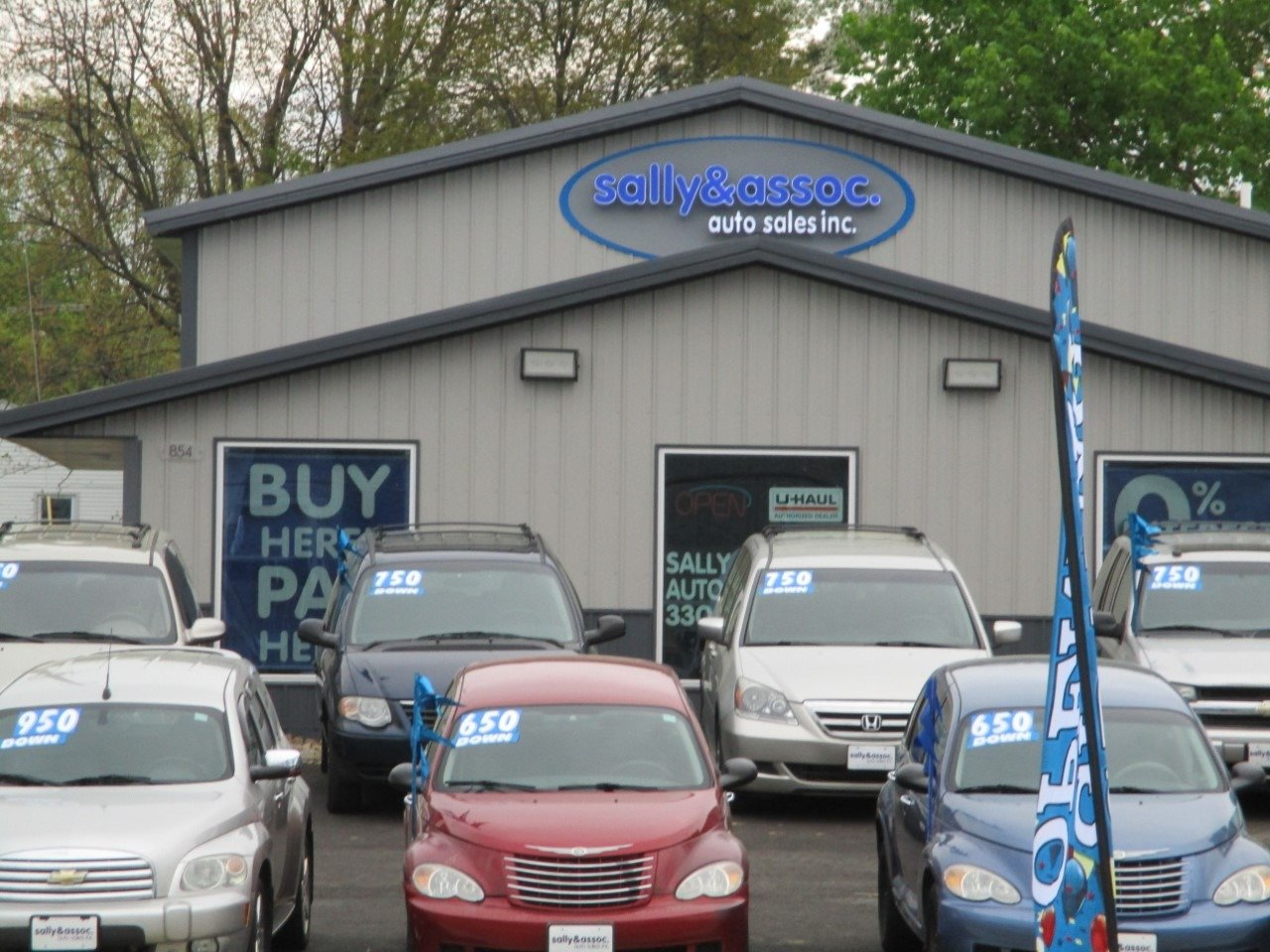 Sally & Assoc. Auto Sales Inc.