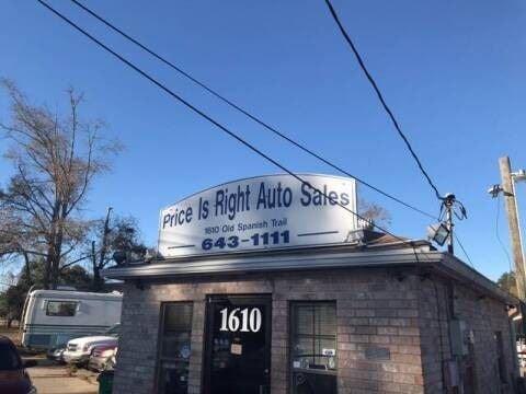 Price Is Right Auto Sales