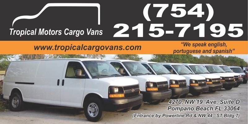 Tropical Motors Cargo Vans and Car Sales Inc.
