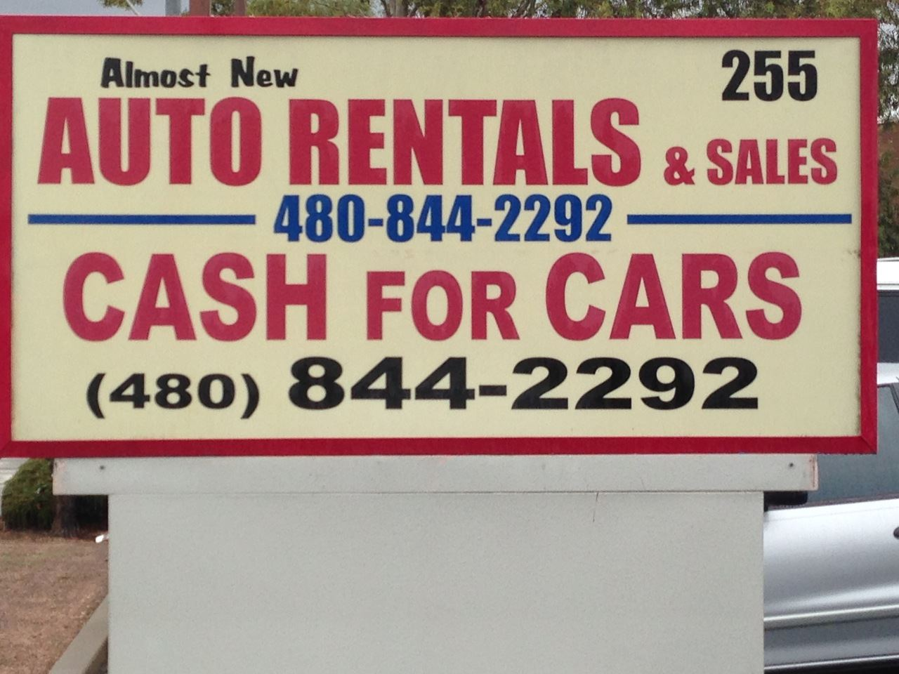 ALMOST NEW AUTO RENTALS & SALES