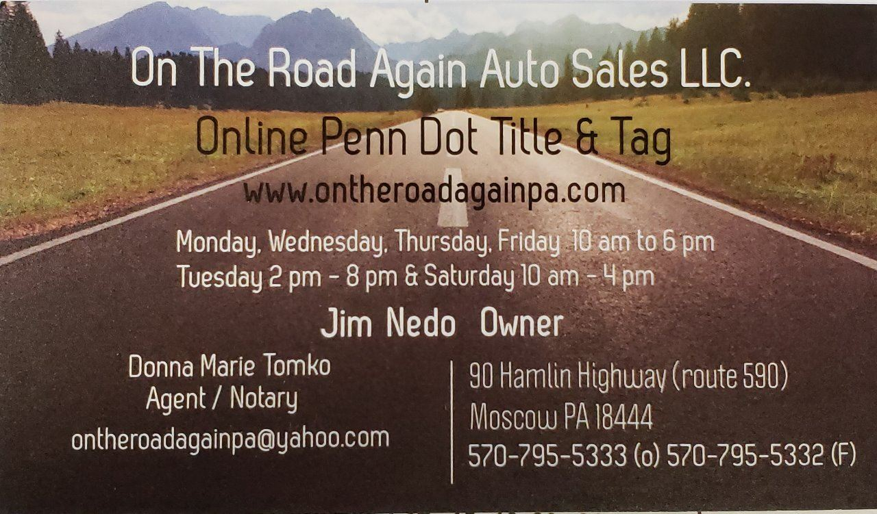 On The Road Again Auto Sales