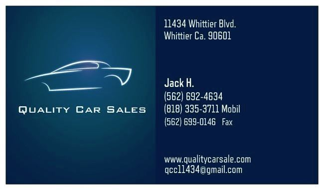 Quality Car Sales