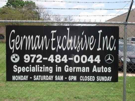 German Exclusive Inc