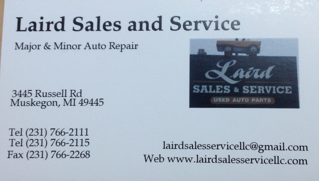 LAIRD SALES AND SERVICE