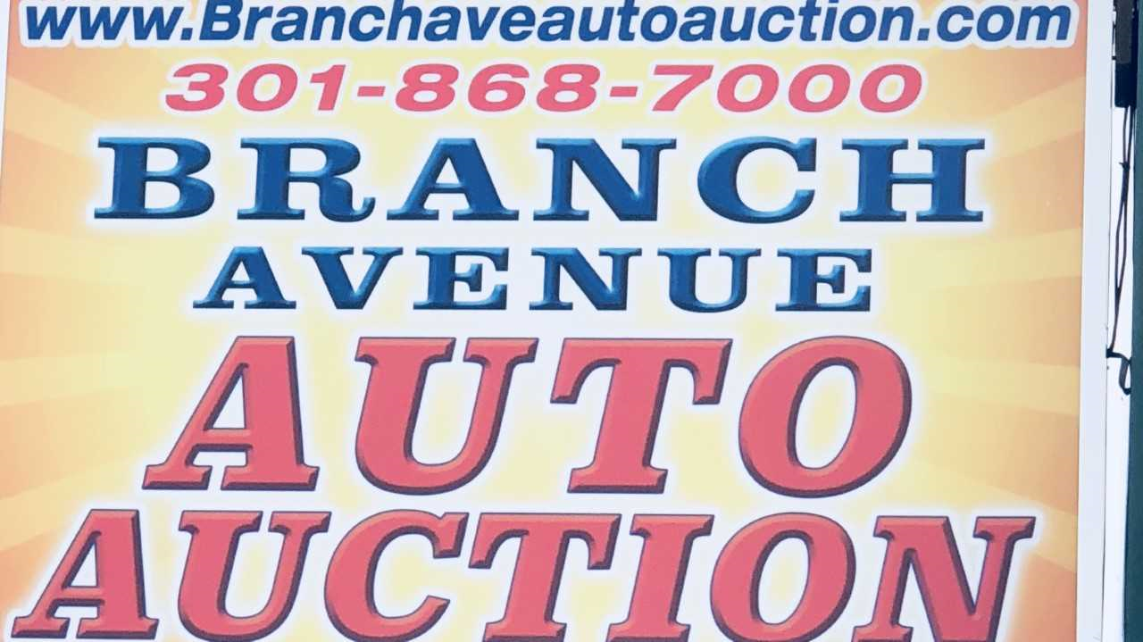 Branch Avenue Auto Auction