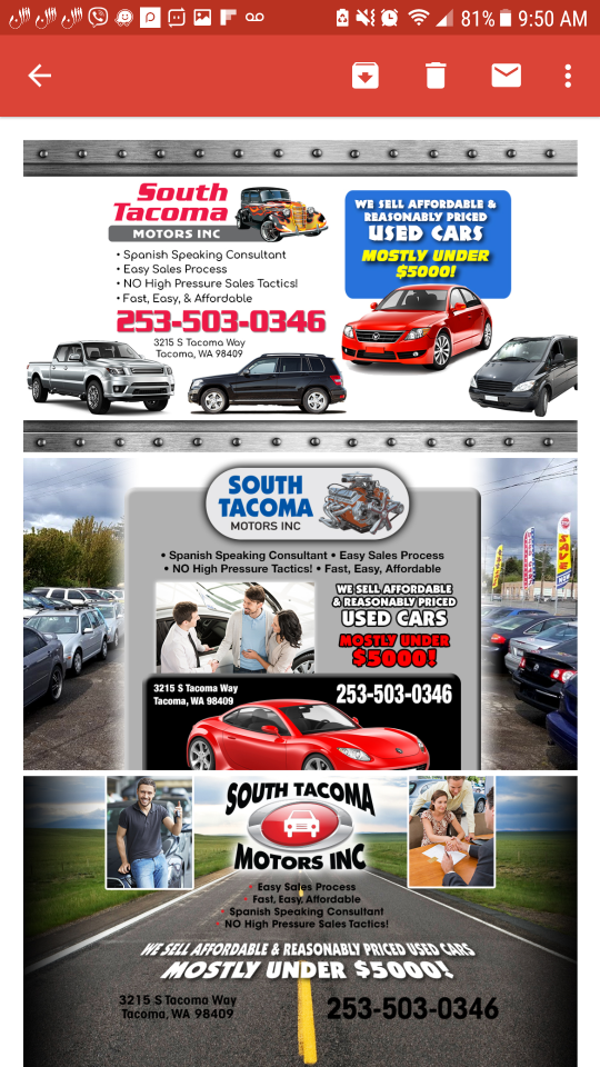 South Tacoma Motors Inc