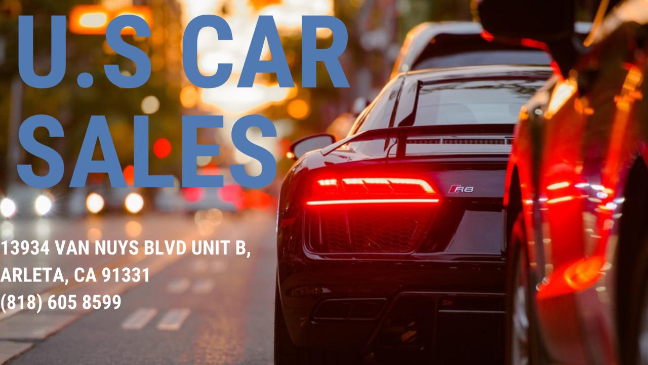 U.S Car Sales