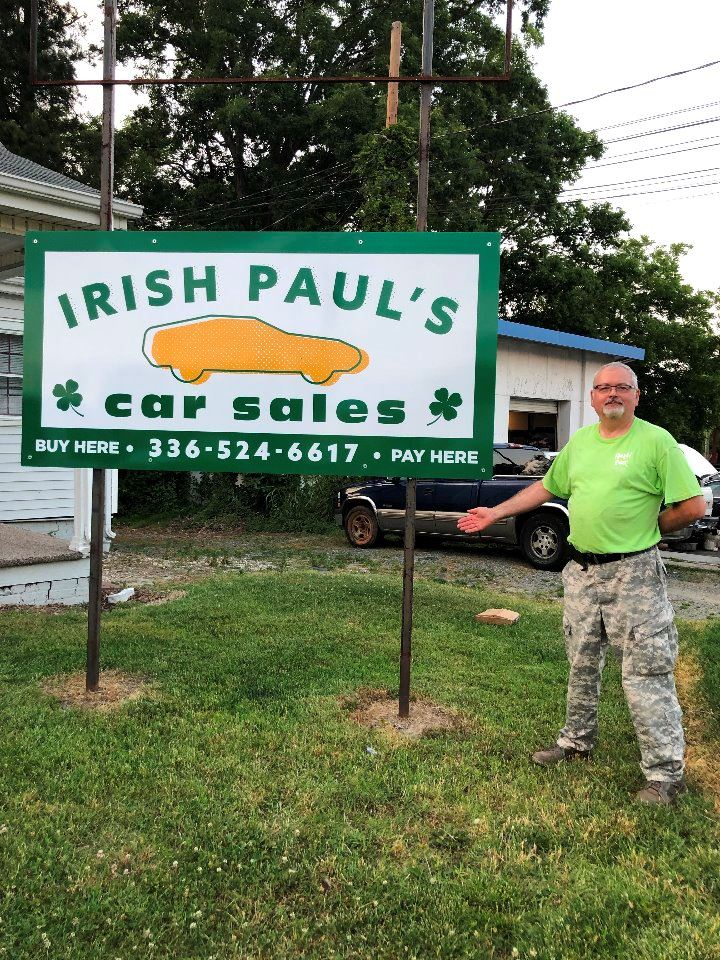 Irish Paul's Car Sales