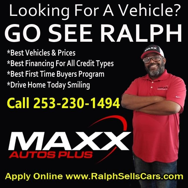 Ralph Sells Cars at Maxx Autos Plus Tacoma