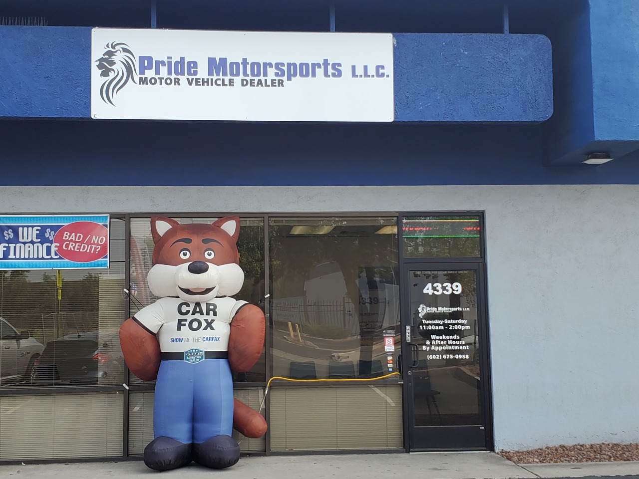 Pride Motorsports LLC