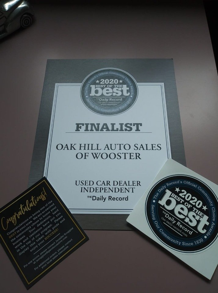 Oak Hill Auto Sales of Wooster, LLC