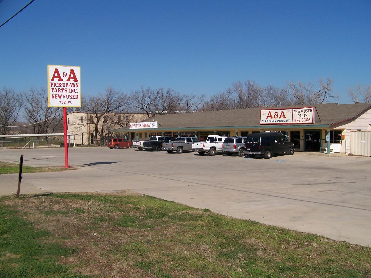 A&A Pickup & Van Parts, Inc.