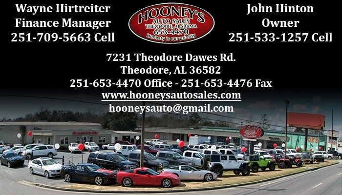 Hooney's Auto Sales