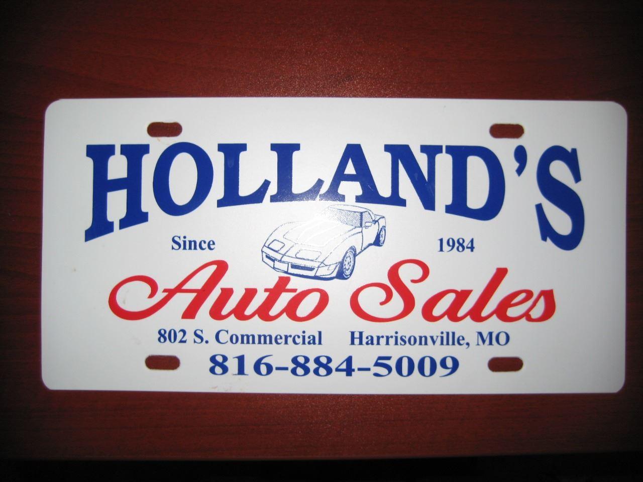 Holland's Auto Sales