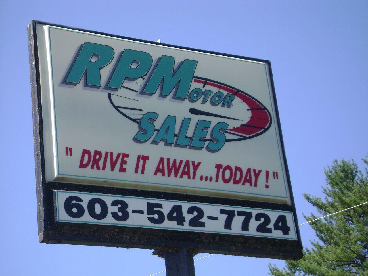 RPM MOTOR SALES