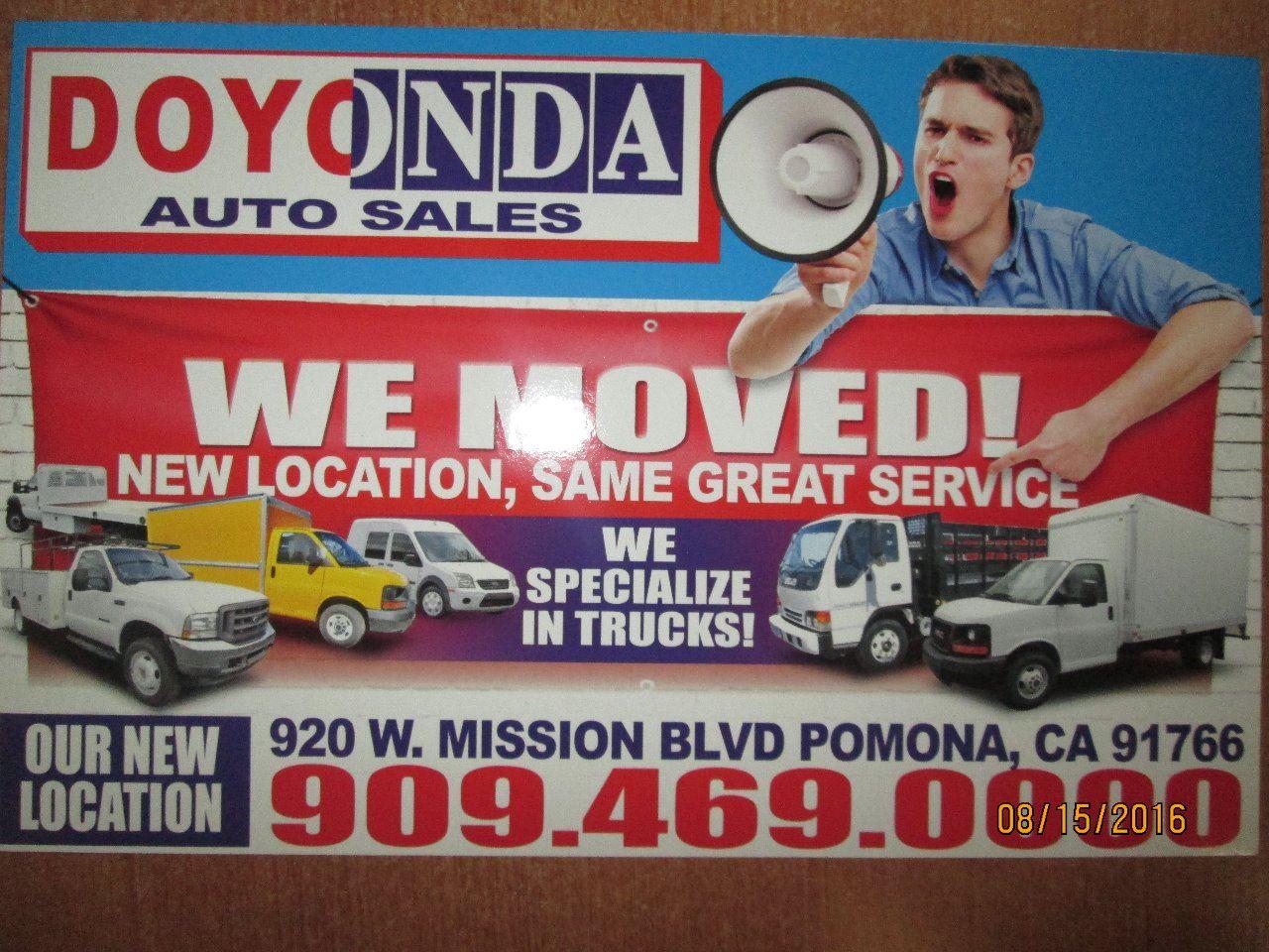 DOYONDA AUTO SALES