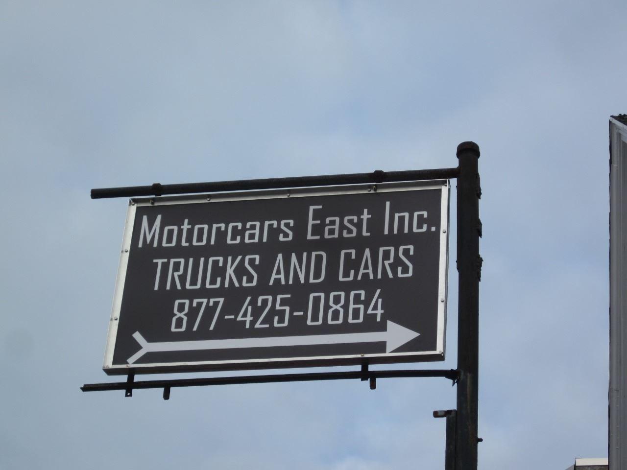 MOTORCARS EAST INC