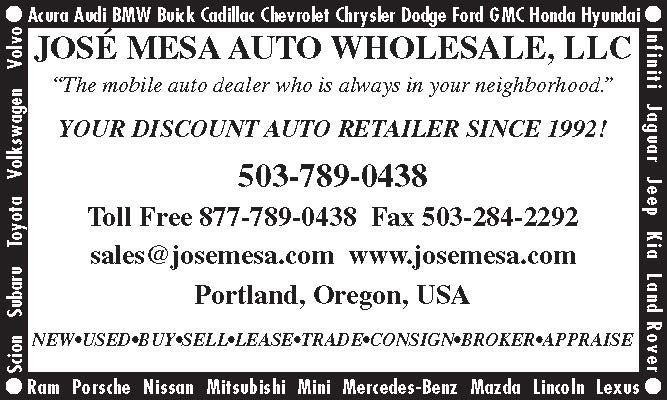 JOSE MESA AUTO WHOLESALE , LLC