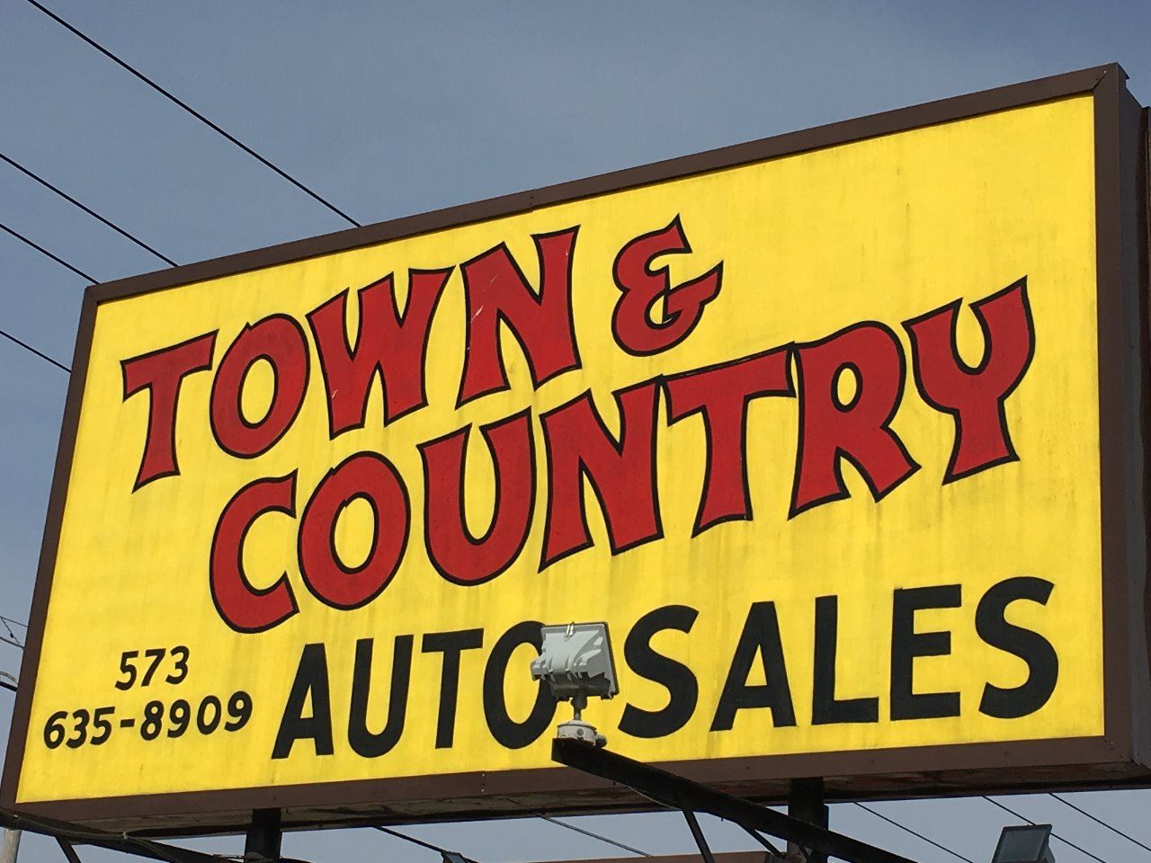 Town and Country Auto Sales