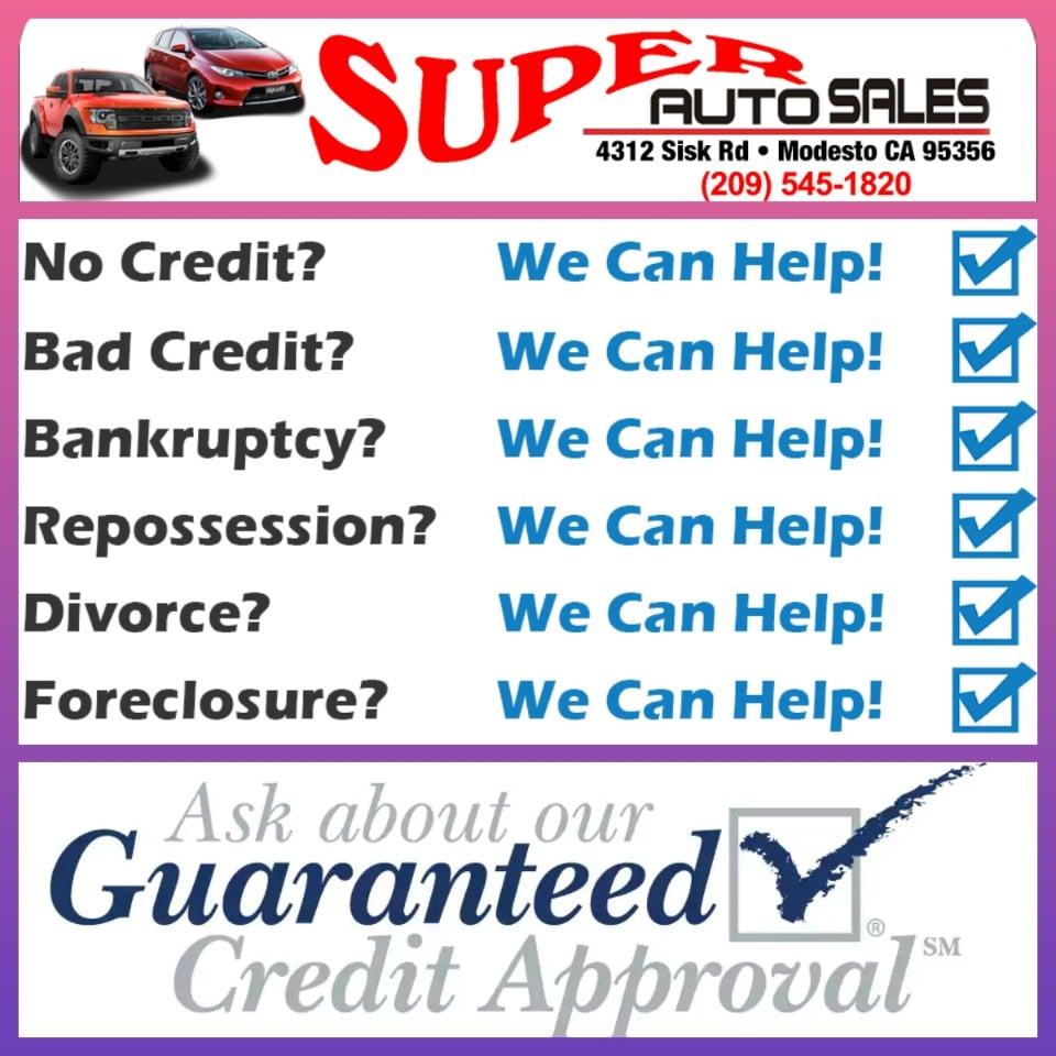 Super Auto Sales Modesto