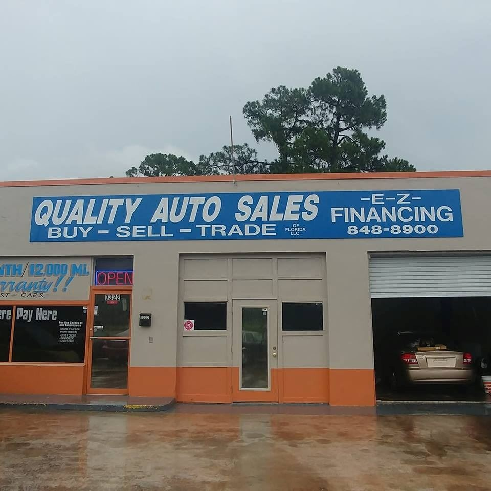 QUALITY AUTO SALES OF FLORIDA