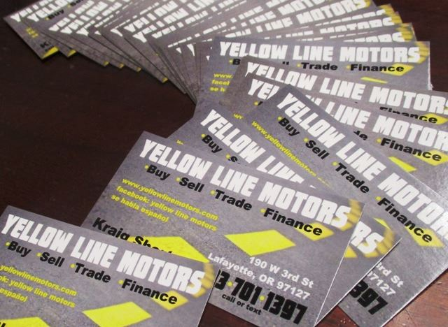 Yellow Line Motors