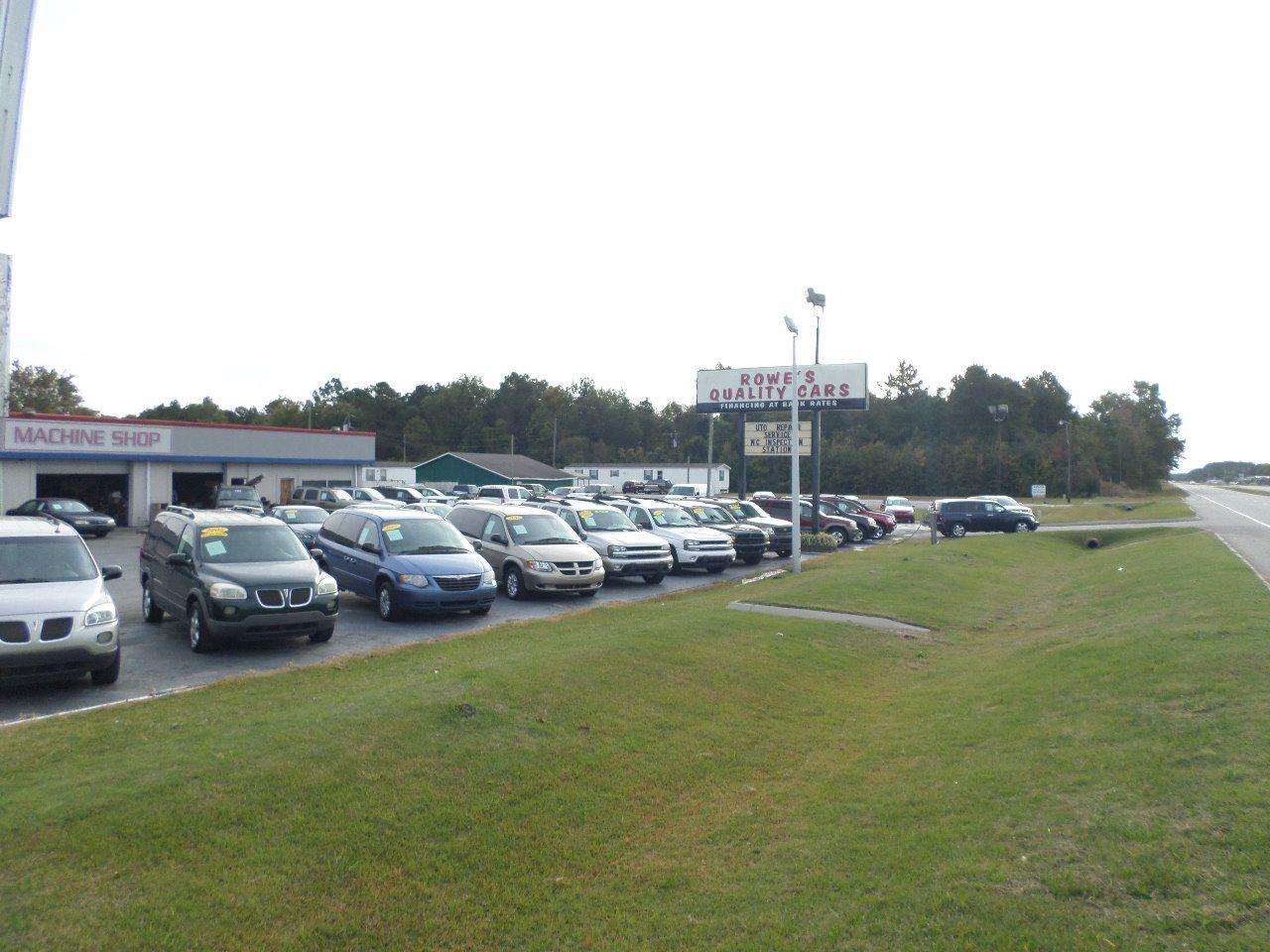 ROWE'S QUALITY CARS INC