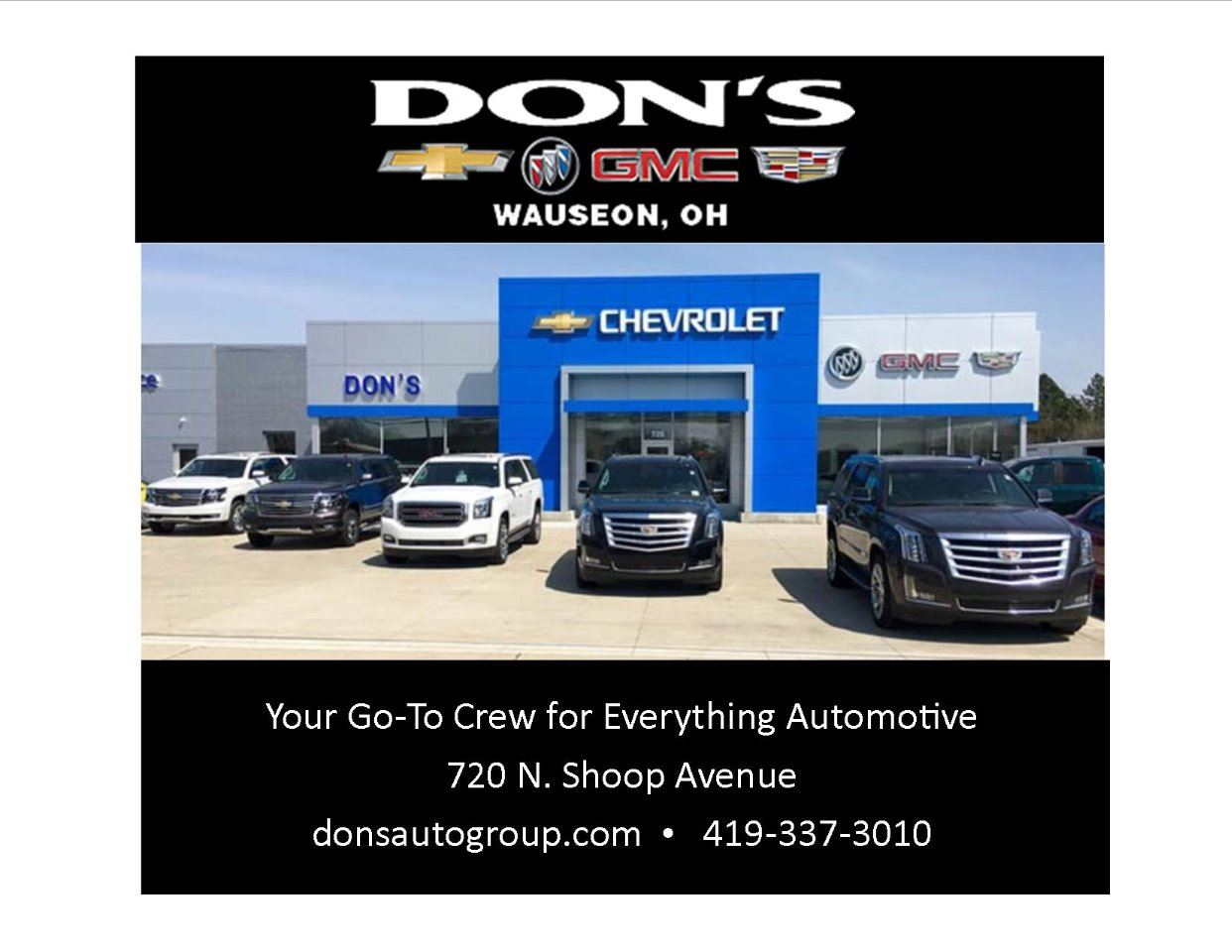 DON'S CHEVY, BUICK-GMC & CADILLAC
