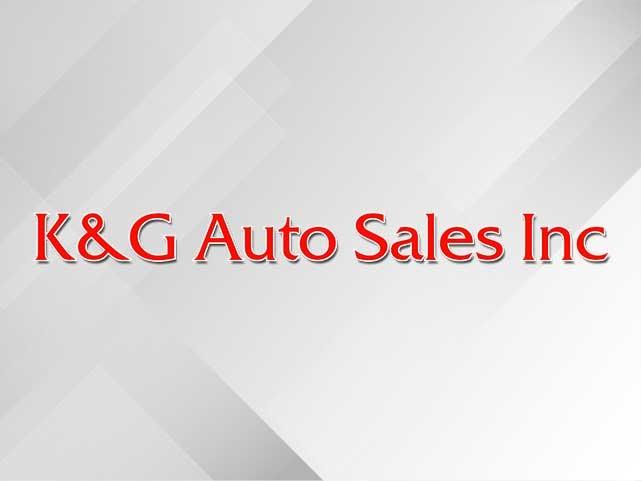 K & G Auto Sales Inc
